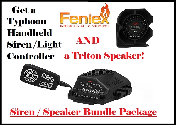 Feniex Typhoon Handheld Bundle