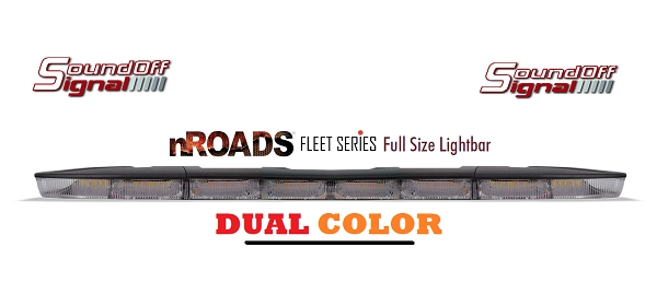SoundOff nRoads Fleet Series Led Light Bar (DUAL Color)