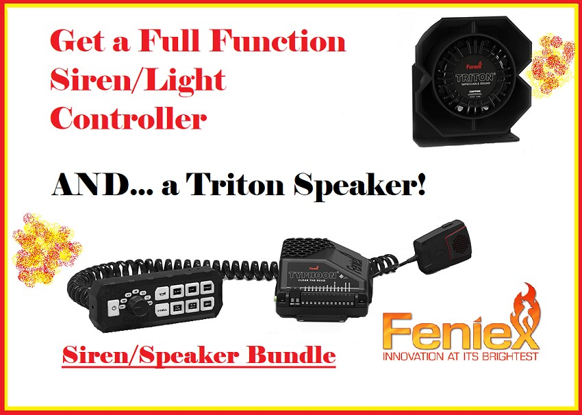 Feniex Typhoon Full Function Bundle
