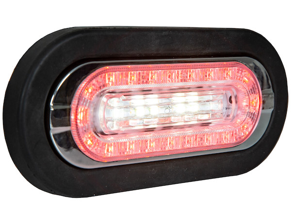 6 Quot Oval Stt Reverse Amp Warning Led Light