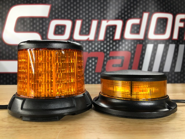 SoundOff Signal 2400 Series Low Profile Led Beacon, Class 1