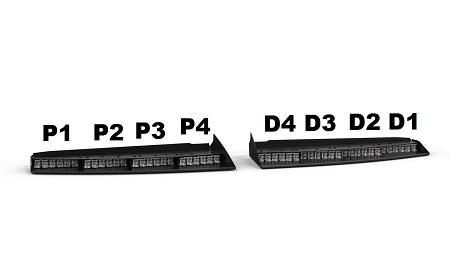 Feniex fusion interior visor bar dual color quick view aloadofball Images