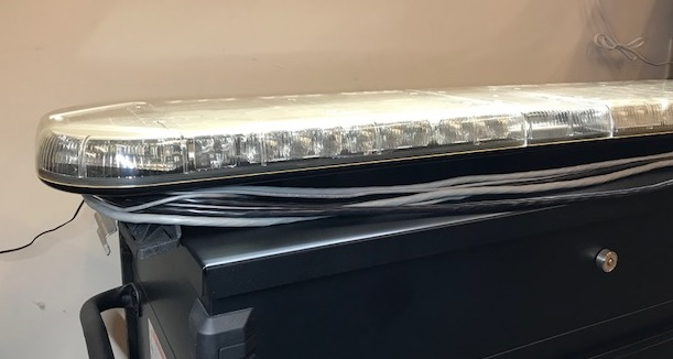 Whelen justice 50 led light bar used quick view aloadofball Images