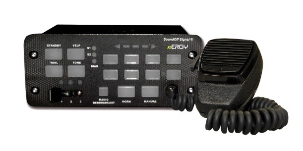 SoundOff Signal nERGY 400 Series Siren-Light Controller