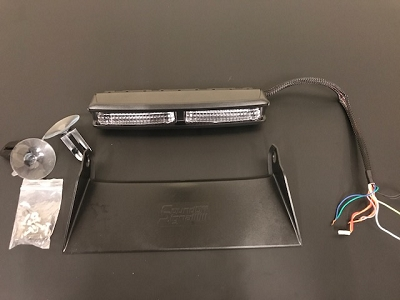 SoundOff Signal nForce Dual Led Dash Light (used)