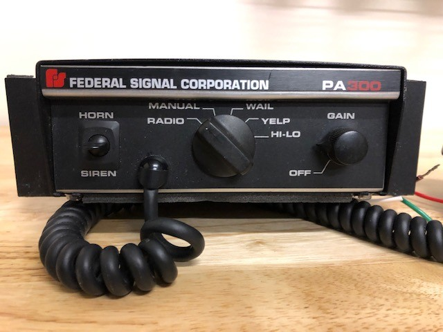 Federal Signal PA300 Siren (used)