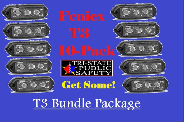 Feniex T3 10-Pack Bundle