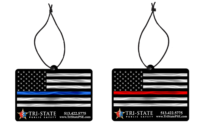 Thin Blue Line & Thin Red Line Air Freshener