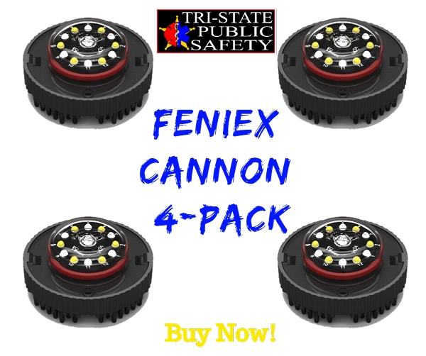 Feniex Cannon 4-Pack (V3)