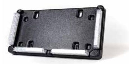 Brooking Industries ES6 License Plate Frame