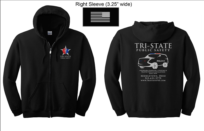 Tri-State Public Safety Hooded Sweatshirt