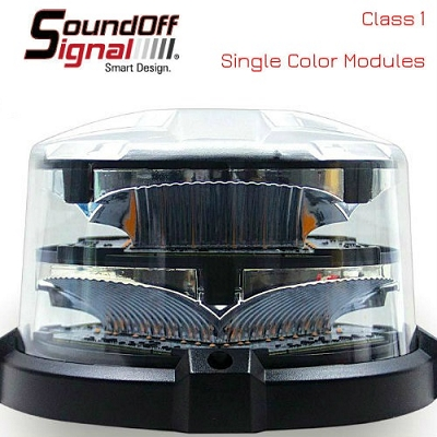 SoundOff Signal nRoads High Dome LED Beacon (Class 1)