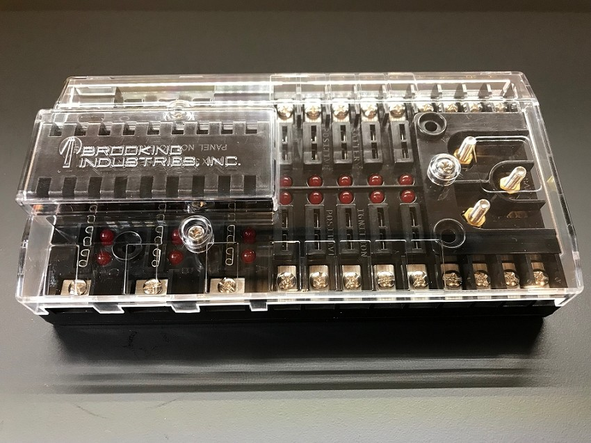 Brooking Industries Power Distribution Panel