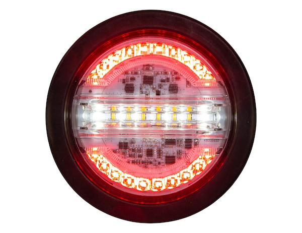 "Buyers Products 4"" Round STT, Backup & Warning Light"